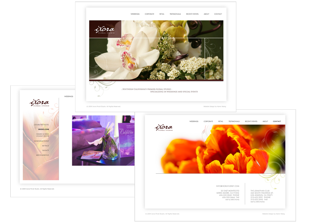 ixora_website